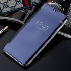Mirror Shinny View Glossy Flip Hard Case Cover For Samsung Galaxy J7 Prime ON7