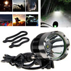 Rechargeable 5000Lm CREE XML T6 LED Head Lamp Front Bike Bicycle Light Headlight