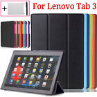 New Leather Smart Case Cover For Lenovo Tab 3 10 Business 10.1 inch + Free Gifts