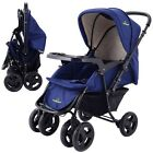 Two Way Foldable Baby Kids Travel Stroller Newborn Infant Pushchair Buggy Cart