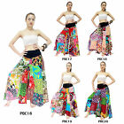 Pants PBC16-20 Cotton Patchwork Thailand Boho Hippie Gypsy Harem Wide Leg Women