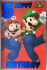 Super Mario Birthday Card (Kids/Age/Birthday/Super Mario)