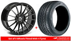 Alloy Wheels & Tyres 18'' Drehen DH-M For Audi A4 [B7] 05-08