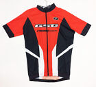 2017 Micro-Poly CYCLING SHORT SLEEVE JERSEY (Black /Red) Made in Italy by GSG