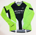 2017 Freeride Mountain Bike Long SLEEVE JERSEY (Green) Made in Italy by GSG