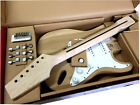 DIY 6 STRING STRAT-STYLE ELECTRIC GUITAR KIT SOLID ASH BODY