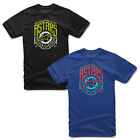 New Alpinestars MotorBike Casual Roundneck Cotton Shed Tshirt Tee Size S-2XL