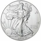 2014 American Silver Eagle GEM BU 1 troy Oz .