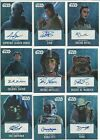2016 Topps Star Wars Evolution Auto Autograph Card Certified By Topps $74.92 CAD