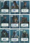 2016 Topps Star Wars Evolution Auto Autograph Card Certified By Topps $19.95 USD on eBay
