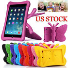3D Butterfly Kids Shockproof EVA Foam Stand Case Cover For Apple iPad Mini 1/2/3