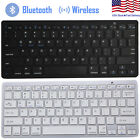 universal bluetooth 3 0 slim keyboard for android windows ios tablet pc laptop