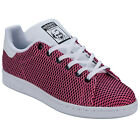 Junior Girls adidas Originals Stan Smith Cf Trainers Pink-Lace Fastening -Colour