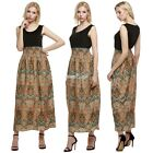 New Women's Summer Sleeveless Boho Long Maxi Evening Party Dress Beach S0BZ