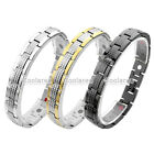 4 in 1 Steel 13mm Magnetic Energy Germanium Men's Therapy Power Health Bracelet