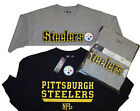 Pittsburgh Steelers NFL Sweatshirt and T-Shirt Combo Pack- Big & Tall Sizes -NWT
