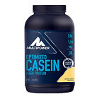 (22,11 Eur/kg) Multipower Optimized Casein + Egg Protein 900g Dose MHD 04/17