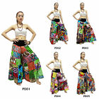 Pants PD1-5 Cotton Patchwork Boho Aladdin Hippy Gypsy Harem Genie Wide Leg Women