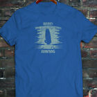 WIND SURFING WATER SPORTS OCEAN SEA BOARD BEACH Mens Blue T-Shirt
