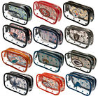 Official NFL - Clear PENCIL CASE (American Football) Stationery/School/Gift
