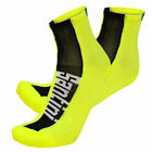 Flag Cycling Socks - in Yellow - made in Italy by Santini