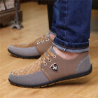 3 Colors Men's Flats Casual Canvas Mesh Breathable Recreational Shoes Casual