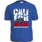CALIFORNIA REPUBLIC STATE FLAG CALI BEAR STAR ADULT T-SHIRT MEN S LOS ANGELES wt