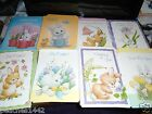 One Ruth Morehead Easter Greeting Card with Bunny Lot Two