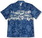 Muscle Car Chest Band Men's aloha Shirt made in Hawaii