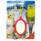JW PET BIRD TOY FANCY MIRROR PARAKEET COCKATIEL CANARY. FREE SHIP TO THE USA
