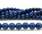 new 4 6 8 10 12 14mm Natural Sapphire Blue Jade Round Gemstone Loose Beads 15""