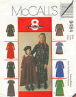 McCalls 9484 Girls Dresses Sewing Pattern