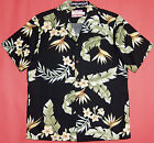 Bird of Paradise Garden mens vintage RJC cotton aloha shirt made in Hawaii