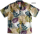 Monstera Leaf Expression Men's vintage aloha Shirt  made in Hawaii