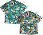 Hibiscus Outrigger Island Men's RJC vintage aloha Shirt made in Hawaii