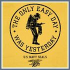 NAVY SEALS T SHIRT new US SCUBA Frog The Only Easy Day Was Yesterday Marines Tee