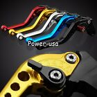 Clutch &Brake Levers For Kawasaki ZX6R/ZX636R/ZX6RR/ZX9R/VERSYS/ZZR600 2000-2009
