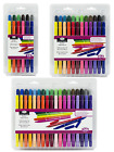 Dual Double End Artist Colouring Pens Felt Tip Markers Fine/Bullet Nibs 12,24,36
