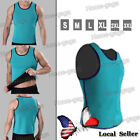 Sport Men Slimming Belly Belt Corset Neoprene Vest Sauna Sweat Shirt Body Shaper