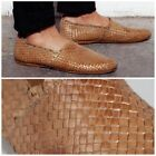 H By Hudson Casual Mens Slip On Flat Tan Woven Cozumel Weave Shoes 11 45 US 12