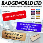 Company Personalised Staff Name Badges for Leisure Sport Gym Personal Trainer