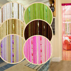 Drop Beads Curtain Line Hanging 1*2m Door Window Room Divider Curtain Valance JR