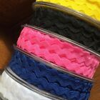 "RIC RAC BRAIDING CRAFTS  SEWING 6MM (15/64"")- VARIOUS COLOURS/ LENGTHS"