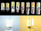 E11/E14/E12/E17/BA15d/G4/G9/G8 110V/220V 3W 40SMD Led Lights Silicone White/Warm