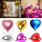 """Cute 5PCS Multi-Color 10"""" Heart Foil Balloons Birthday Wedding Party Hot"""