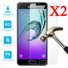 2Pcs Tempered Glass Screen Protector For Samsung Galaxy A3 A5 A7 2017 2016 2015