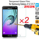 2Pcs 9H Tempered Glass Film Screen Protector For Samsung GALAXY J3 J5 J7 2016