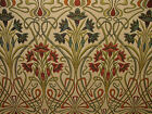 Art Nouveau Jewel Thick Designer Jacquard Curtain Upholstery Cushion Use Fabric