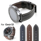 22mm Luxe Grand Leather Watch Band Strap for Samsung Gear S3 Classic Frontier US