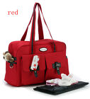 Multifunctional Mommy Bag Baby Diaper Mummy Changing Bag Large Nappy Bag